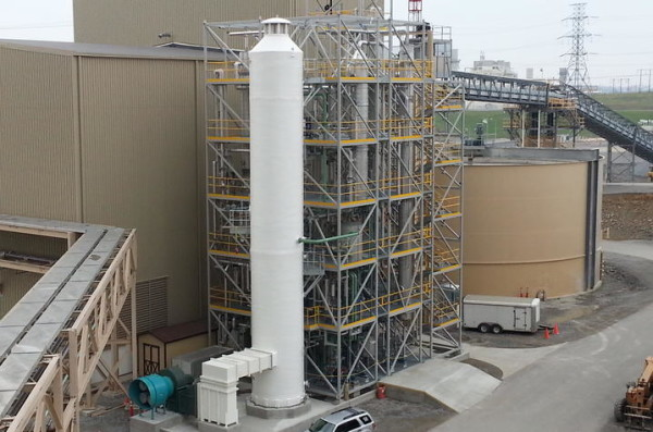 UK's carbon capture facility at LG&E's E.W. Brown Generating Station in Burgin, Ky.