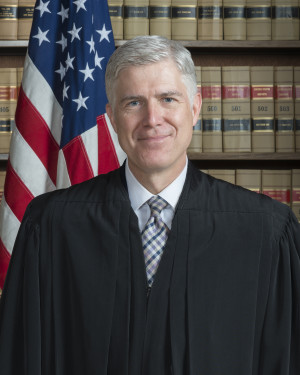 Associate Justice Neil M. Gorsuch; photograph by Franz Jantzen, 2017.