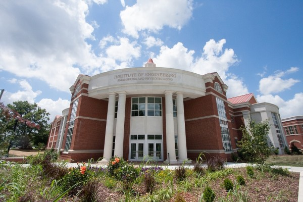 Murray State's new Engineering and Physics Building.