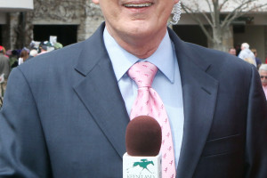 Mike Battaglia during the 2013 Keeneland spring meet.