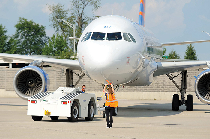 Blue Grass Airport celebrated its 70th birthday and saw a record number of passengers in 2016.