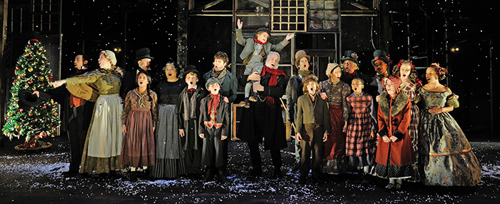 The Lancaster Theatre presents A Christmas Carol.