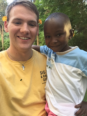 Caleb Coomes, a Murray State junior from Owensboro, spent his summer as a full-time volunteer in Israel.