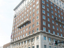 The offices of Lexington Fayette County Urban Government are situated in the center of downtown Lexington.