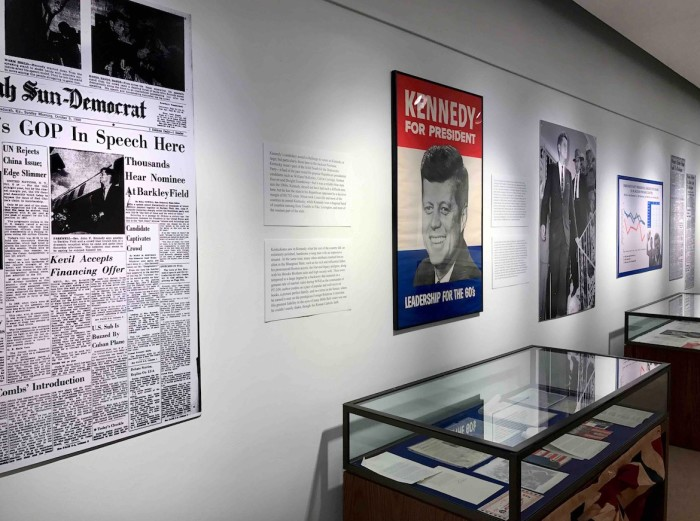 """The """"Kennedy Comes to Kentucky"""" exhibit will be on display beginning Nov. 14 in Murray State University's Wrather West Kentucky Museum. The exhibit will explore the 1960 presidential election of JFK with an emphasis on the former U.S. president's campaign in west Kentucky and, specifically, in the Jackson Purchase region."""