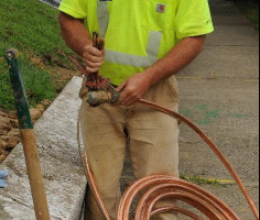 Louisville Water began replacing its lead service lines in the 1980s.