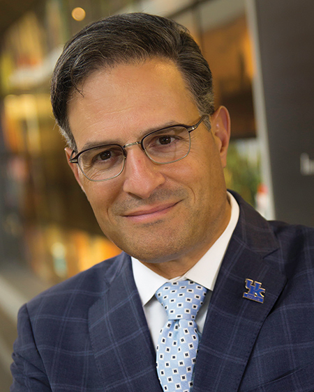 Dr. Robert DiPaola became dean of the University of Kentucky College of Medicine in March 2016.