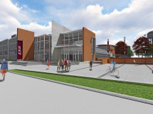 Rendering of EKU's new Student Recreation and Wellness Center.