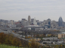 A primary option being considered to improve traffic would be to build a second span alongside the Brent Spence Bridge with one carrying northbound traffic and the other southbound traffic.