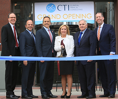 CTI Clinical Trial & Consulting Services officially opened its headquarters in Covington's RiverCenter in October 2017.