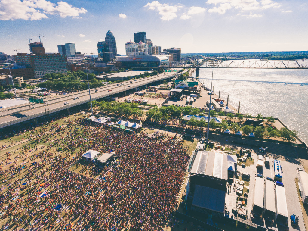 Forecastle Festival is held annually at Louisville's Waterfront Park.