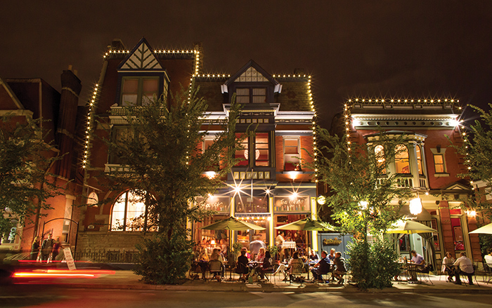 The historic MainStrasse Village in Covington  is Northern Kentucky's home of Oktoberfest  and Maifest.