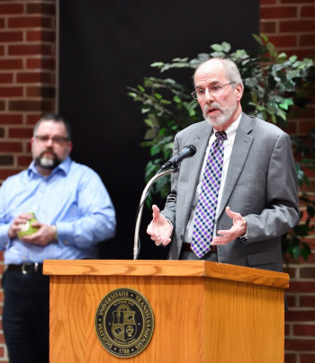 Dr. Don Robertson, vice president of student affairs and assistant professor at Murray State.