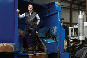 Nate Morris, founder of Rubicon Global, an innovative business creating efficiencies in the multibillion-dollar waste disposal industry,  works closely with the Gatton College of Business and Economics and the University of Kentucky where he an entrepreneur in residence.