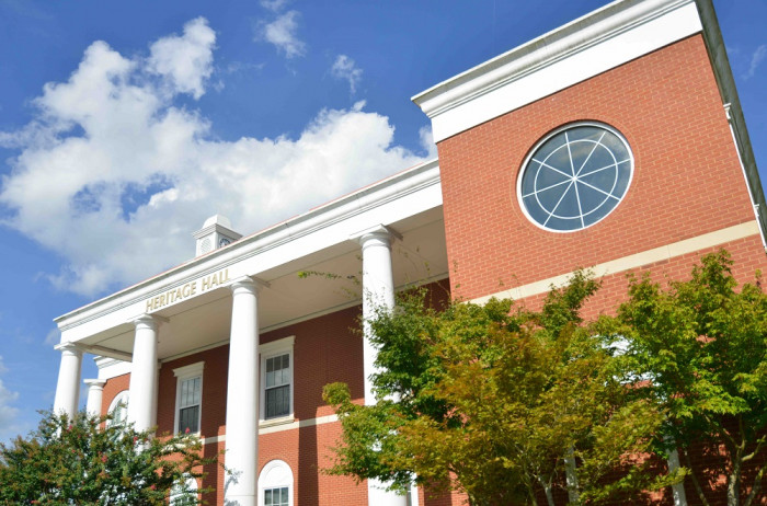 The Small Business Development Center at Murray State is located in Heritage Hall on the university's main campus.