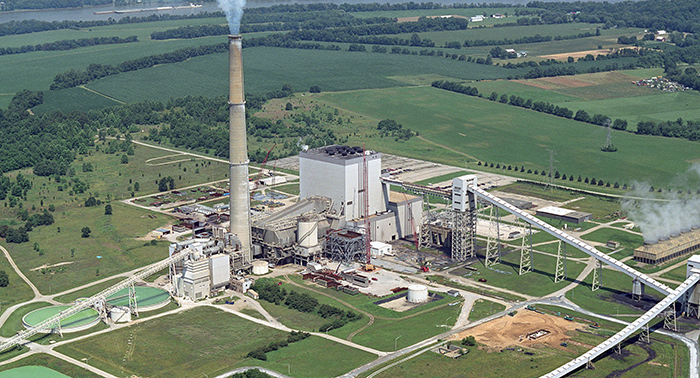 Located in Rabbit Hash is Duke Energy's East Bend Generating Station.