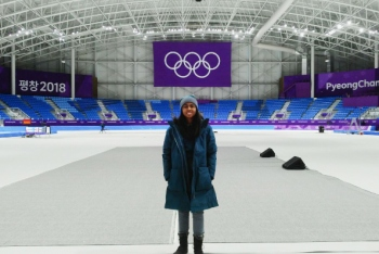 Quinnette Connor was one of many students who earned invaluable experience during the 2018 Olympic Games.