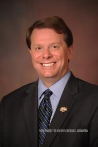 Eric Gregory, president of the Kentucky Distillers' Association