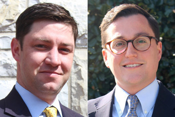 Kyle Wilson, left, and Dean Roethemeier