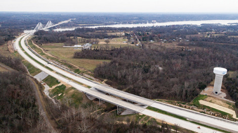The $763 million Ohio River Bridges East End Crossing project includes financing, design, construction, operation and maintenance for 35 years of a bridge that links Kentucky to Indiana.