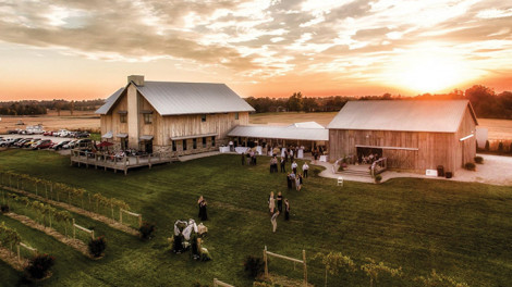 The Farmer and Frenchman Vineyard and Winery in Henderson.