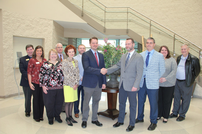Representatives from Cumberlands and Somerset CC recently entered an articulation agreement.