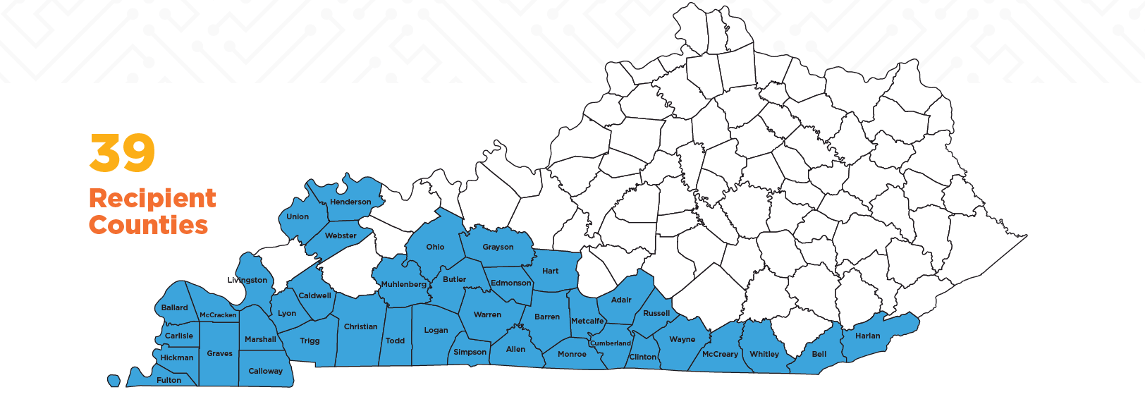 KY TVA Counties Recipient Map