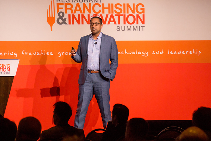 The Summit started with a keynote presentation from George Felix, director of advertising for KFC U.S.
