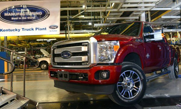 Ford resuming F-150, Super Duty production on Monday