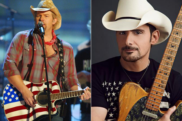 Brad Paisley, Toby Keith among acts announced for Red, White