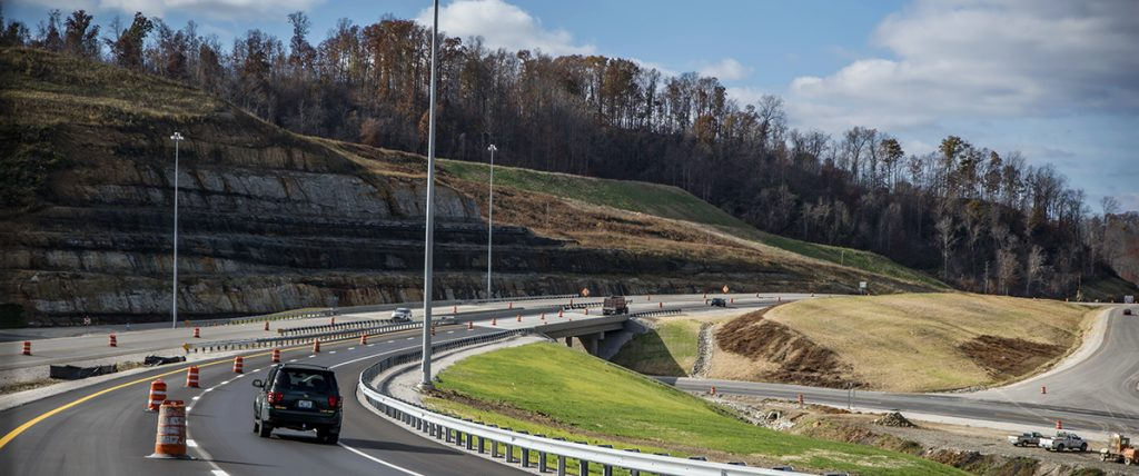 Mountain Parkway project progressing through Wolfe, Morgan